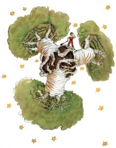 Affenbrotbäume können den Planeten des kleinen Prinzen zerstören