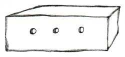 Der kleine Prinz – Zeichnung vom Schaf in der Kiste