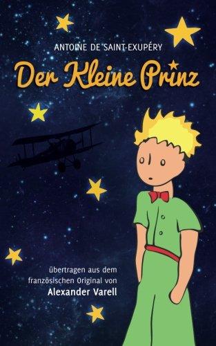 Der kleine Prinz, Antoine de Saint-Exupéry, Originaltext zum Film, Cover