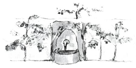 Der kleine Prinz – Brunnen (Händler)
