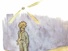 Bei seiner Ankunft auf der Erde begegnet dem kleinen Prinzen zunächst die Schlange