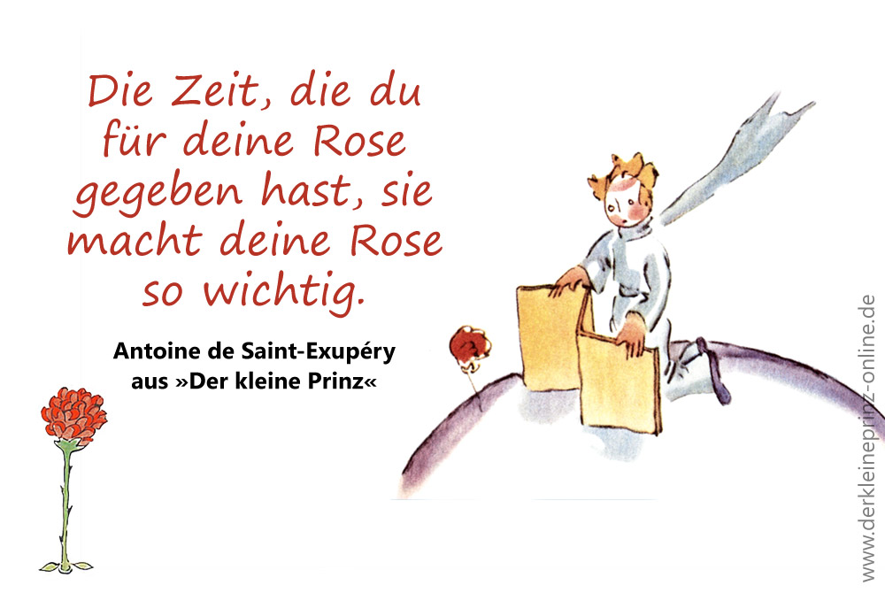 Zitate Liebe Antoine De Saint Exupéry Der Kleine Prinz