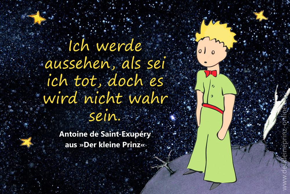Zitate Tod Antoine De Saint Exupéry Der Kleine Prinz Online