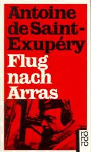 Flug nach Arras – Ein Roman von Antoine de Saint-Exupéry - Cover der Rororo Ausgabe
