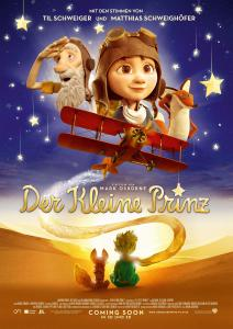 Der kleine Prinz – Filmplakates Animationsfilms 2015 (deutsche Kinoversion)