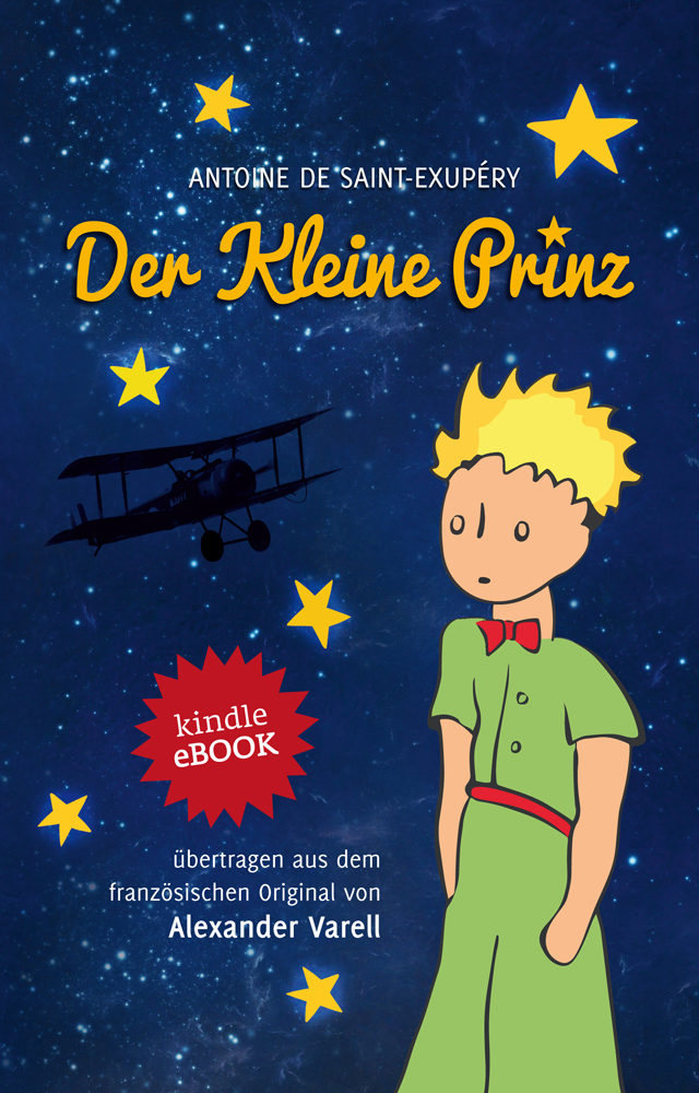 Der kleine Prinz. eBook. Cover